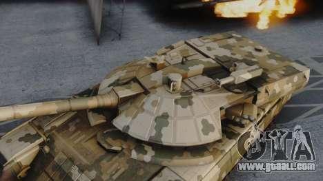 T-100 Varsuk for GTA San Andreas back left view