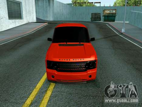 VAZ 2107 Rang Rover Edition for GTA San Andreas back left view