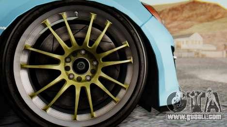 Mazda RX-8 Itasha for GTA San Andreas back view