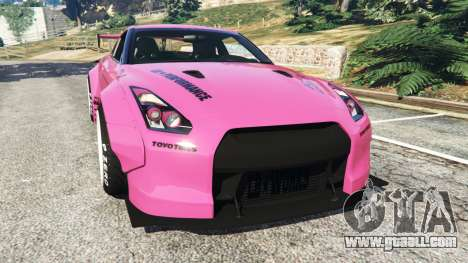 Nissan GT-R (R35) [LibertyWalk] v1.1 for GTA 5