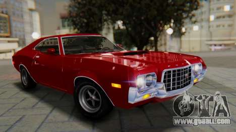 Ford Gran Torino Sport SportsRoof (63R) 1972 PJ1 for GTA San Andreas