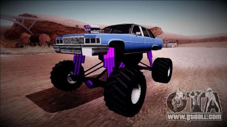 GTA 4 Emperor Monster Truck for GTA San Andreas