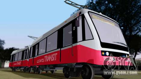 GTA 5 Metrotrain for GTA San Andreas left view