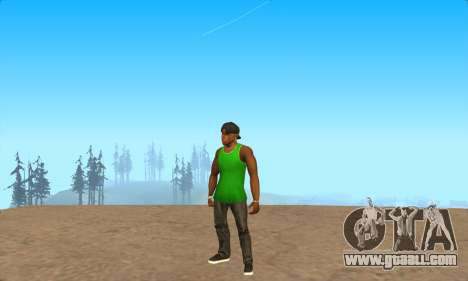 Skin Pak Grove from NeveR for GTA San Andreas forth screenshot