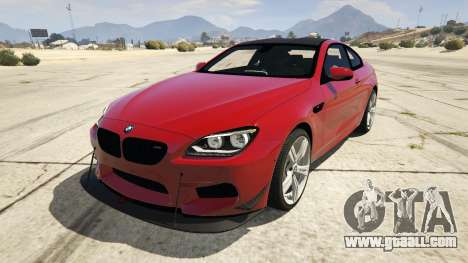2013 BMW M6 Coupe for GTA 5