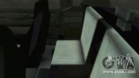 Willard Majestic for GTA San Andreas side view