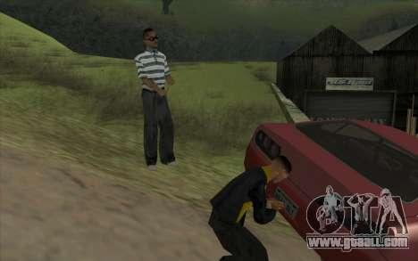 Road trip 1.0 for GTA San Andreas forth screenshot