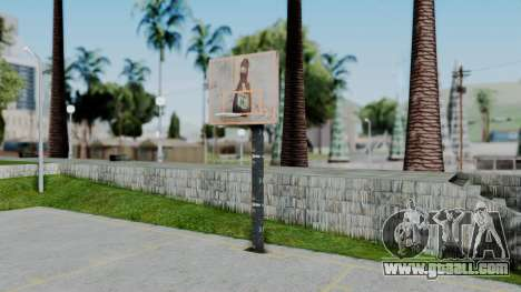 New Basketball Court for GTA San Andreas