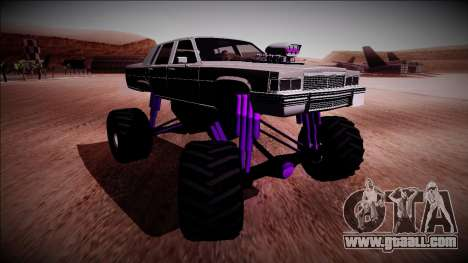 GTA 4 Emperor Monster Truck for GTA San Andreas right view