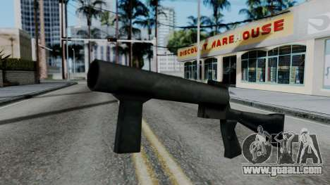 Vice City Beta Grenade Launcher for GTA San Andreas