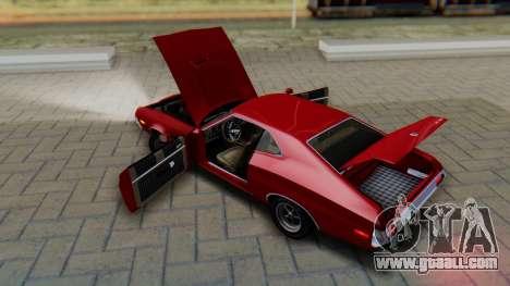 Ford Gran Torino Sport SportsRoof (63R) 1972 PJ1 for GTA San Andreas inner view