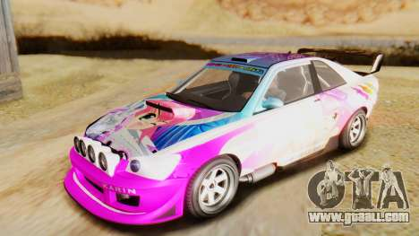 GTA 5 Karin Sultan RS IVF for GTA San Andreas side view