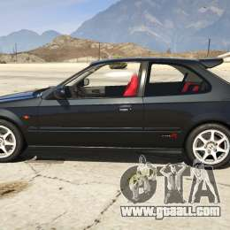 honda civic type r ek9 for gta 5. Black Bedroom Furniture Sets. Home Design Ideas