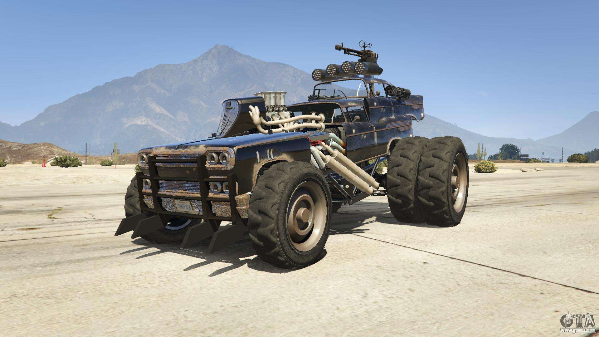 mad max the gigahorse for gta 5