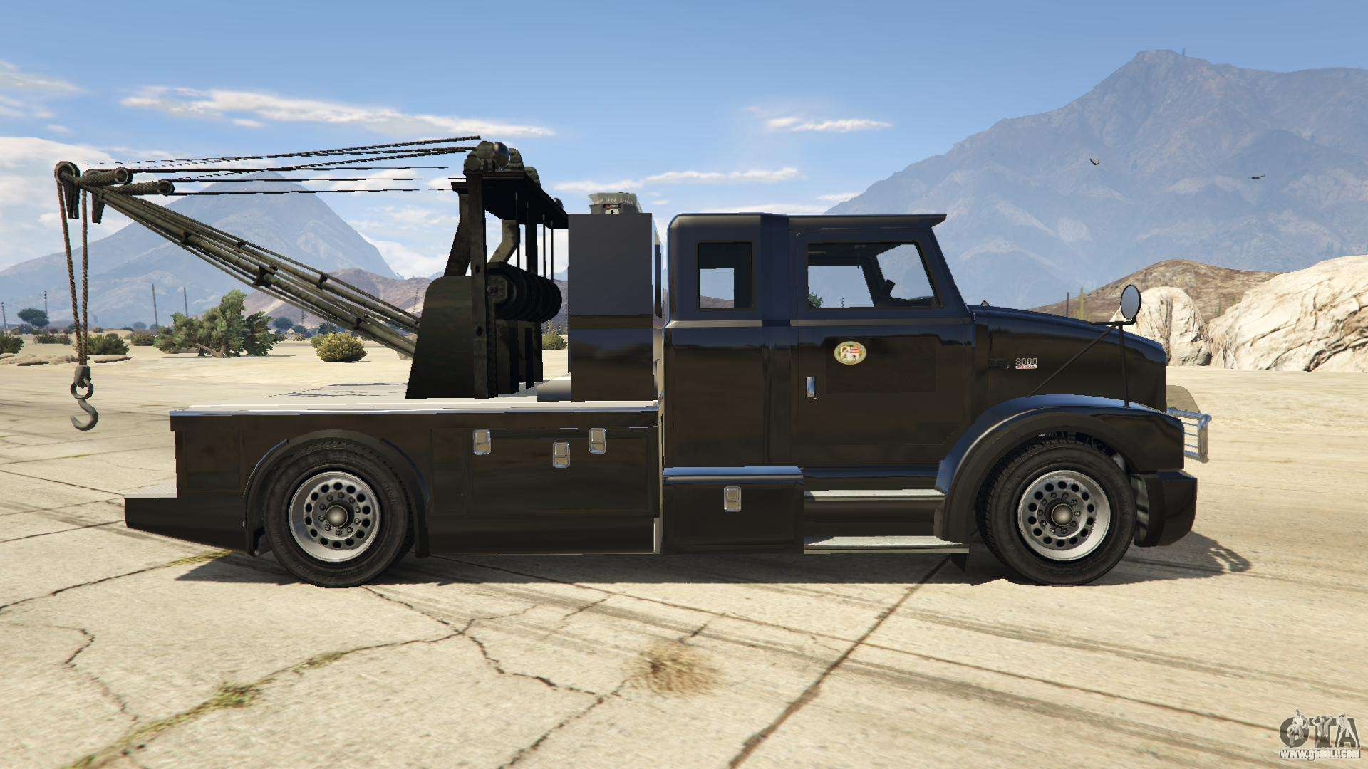 Trophy Truck Gta 5 >> Police Towtruck for GTA 5