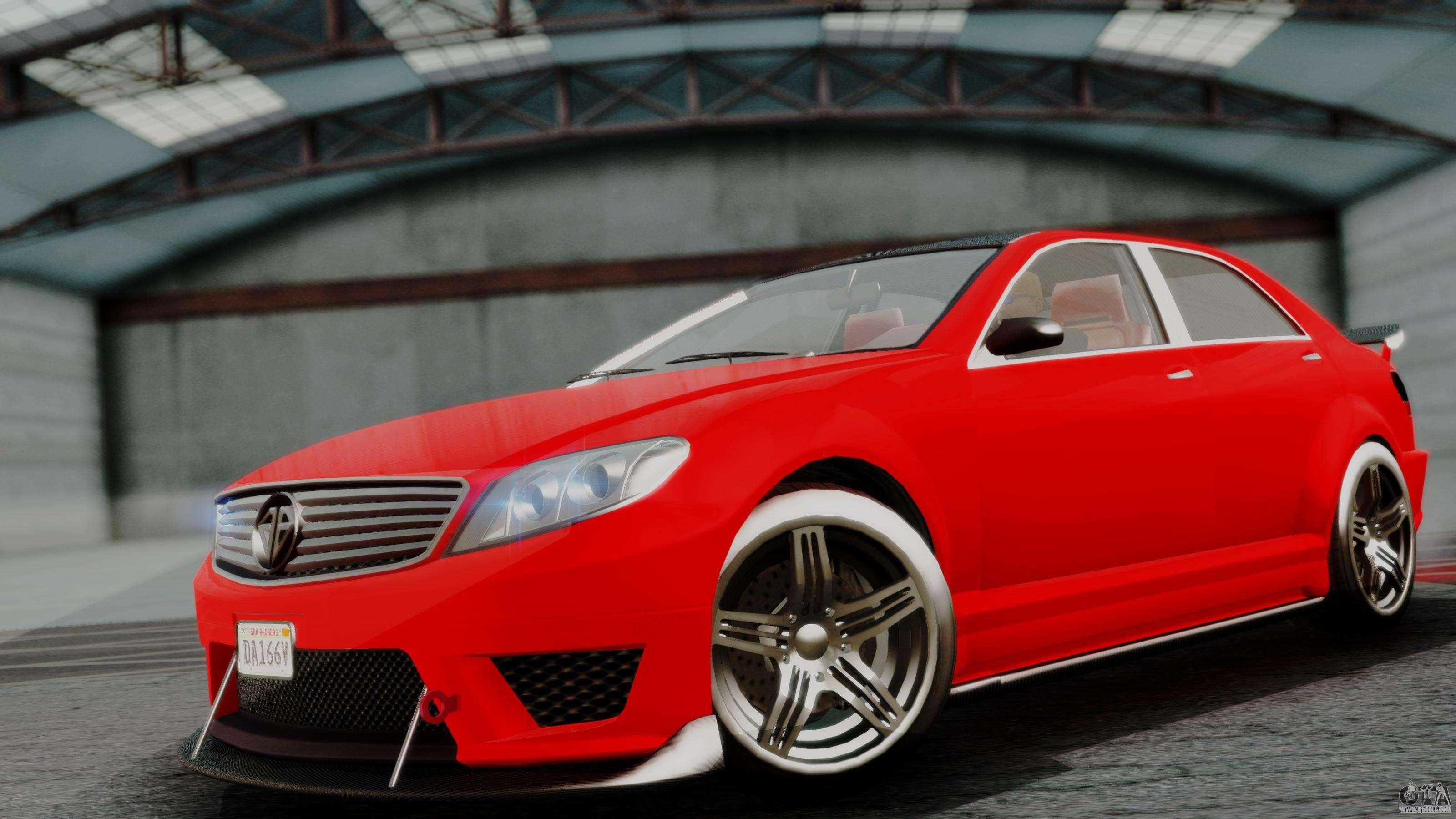Gta 5 Custom Cars >> GTA 5 Benefactor Schafter V12 IVF for GTA San Andreas
