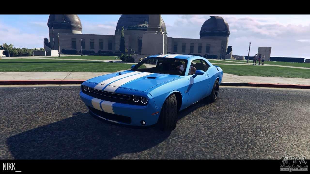 Dodge Challenger 2015 for GTA 5
