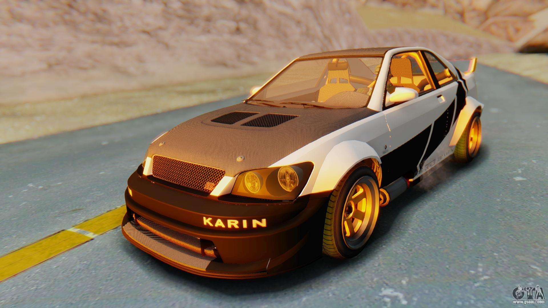 GTA 5 Karin Sultan RS Carbon IVF for GTA San Andreas