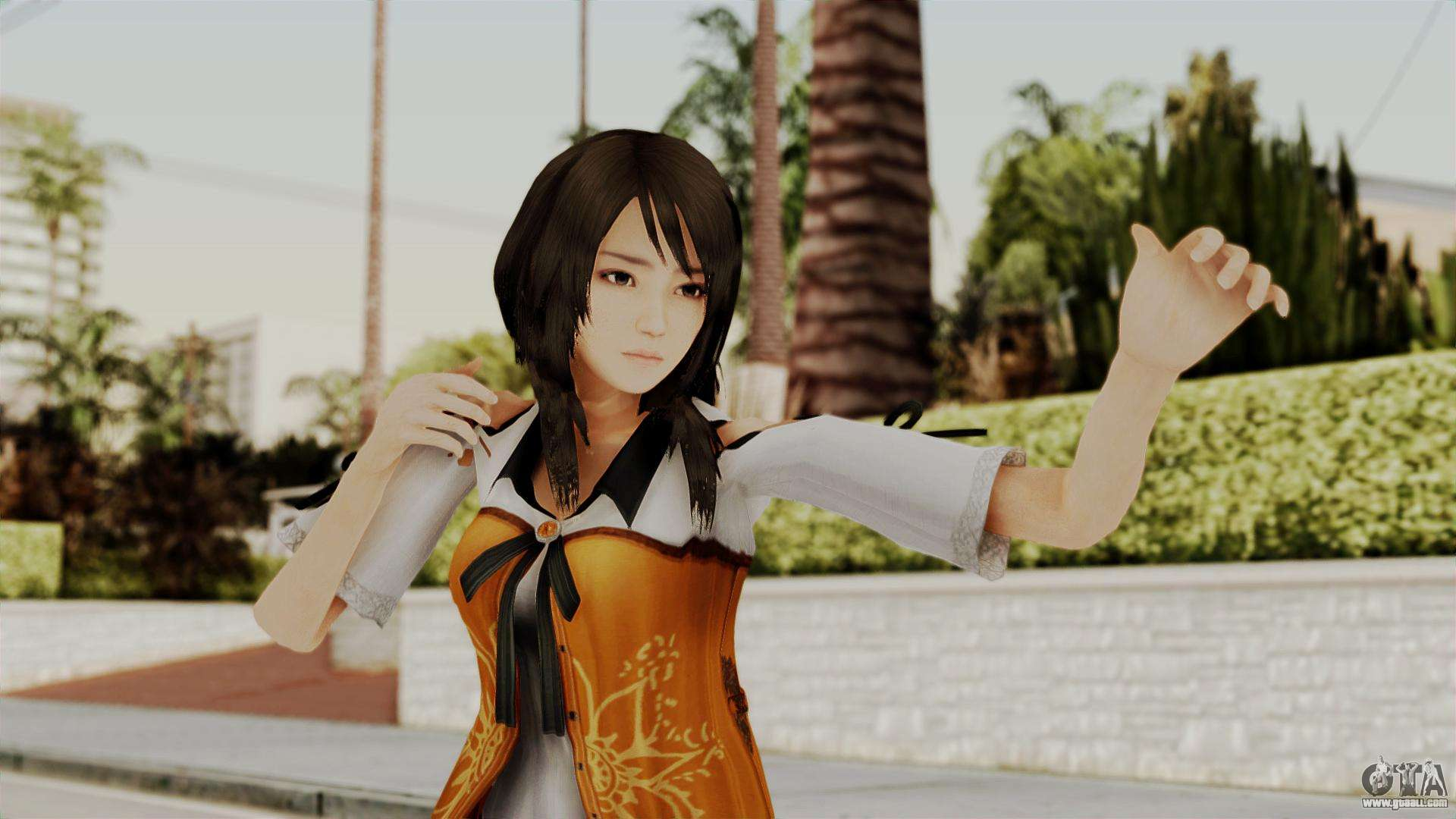 Fatal Frame 5 Yuri for GTA San Andreas