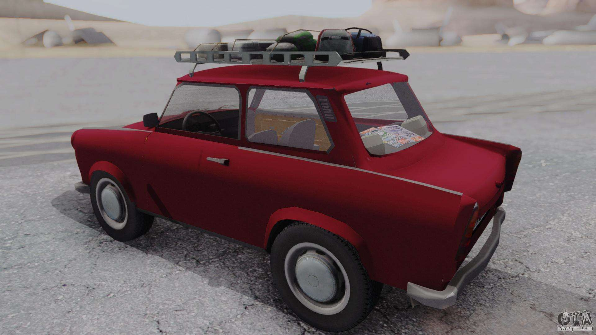 trabant 601 for gta san andreas. Black Bedroom Furniture Sets. Home Design Ideas