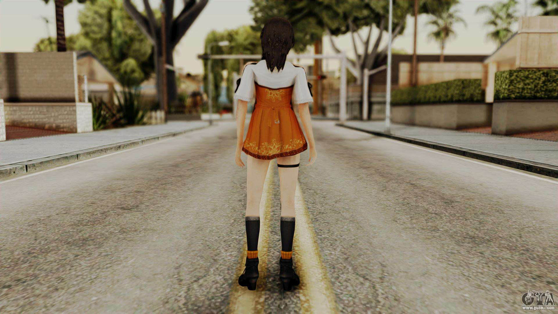 Fatal Frame 5 Yuri for GTA San Andreas