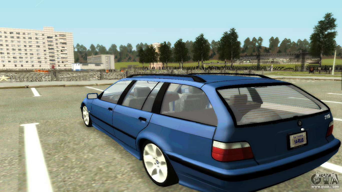 bmw 318i wagon touring wagon for gta san andreas. Black Bedroom Furniture Sets. Home Design Ideas