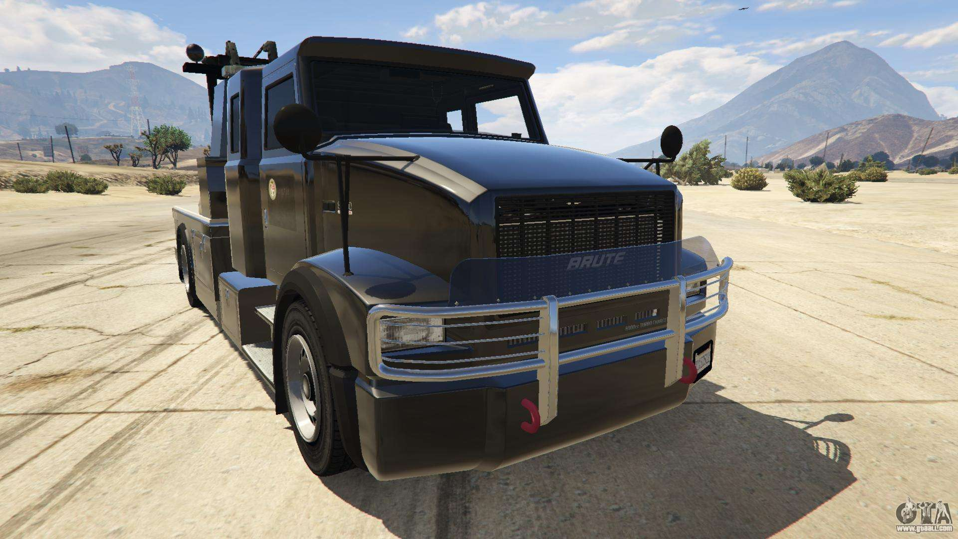 Police Towtruck for GTA 5