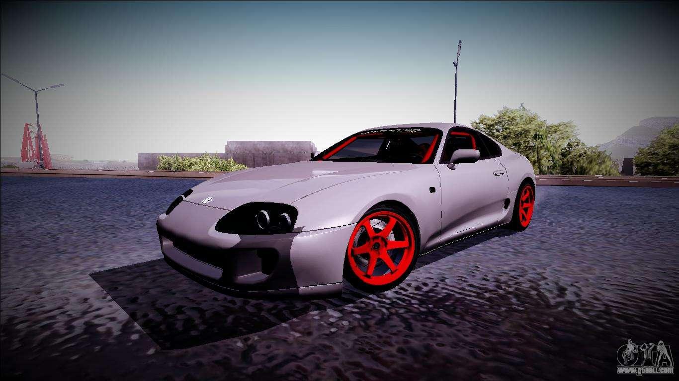 2016 Toyota Supra >> Toyota Supra Drift Monster Energy for GTA San Andreas
