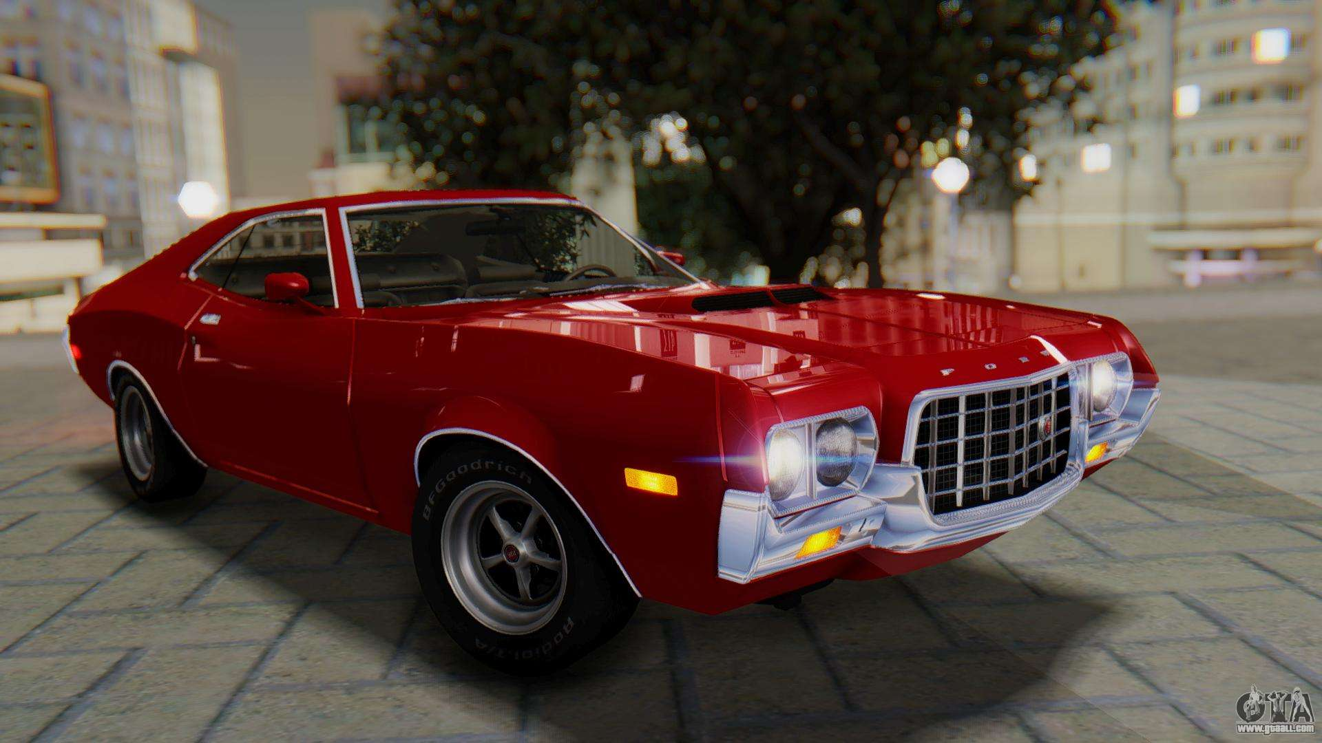 Ford Gran Torino Sport SportsRoof (63R) 1972 PJ1 for GTA ...