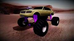 GTA 4 Washington Monster Truck for GTA San Andreas