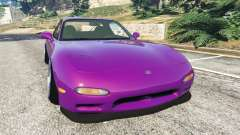 Mazda RX-7 FD3S Stanced [with camber] v1.1 for GTA 5