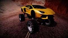 Lamborghini Aventador Monster Truck for GTA San Andreas