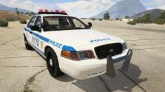 NYPD Ford CVPI HD for GTA 5