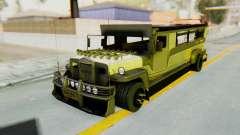 LGS Motors Eggtype Jeepney for GTA San Andreas