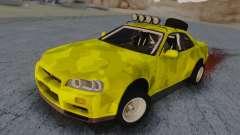 Nissan Skyline R34 Rusty Rebel