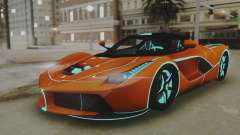 Ferrari LaFerrari TRON Edition v1.0 for GTA San Andreas