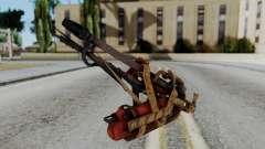Fallout 4 - Flamethrower for GTA San Andreas