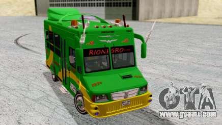 Iveco Turbo Daily Buseton v2 Flota Rionegro for GTA San Andreas