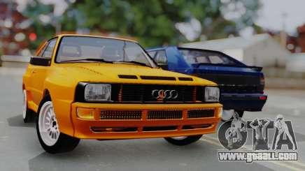 Audi Quattro Coupe 1983 for GTA San Andreas