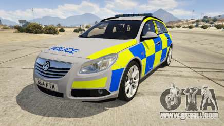 Police Vauxhall Insignia Estate for GTA 5
