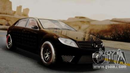 GTA 5 Benefactor Schafter LWB Arm IVF for GTA San Andreas