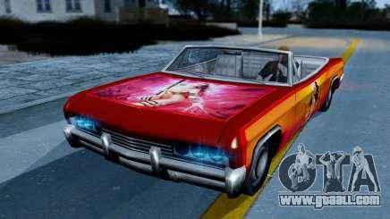 Slamvan New PJ for GTA San Andreas
