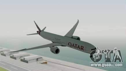 Boeing 777-9x Qatar Airways for GTA San Andreas