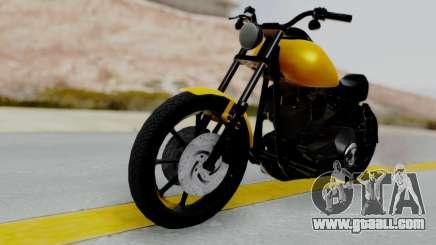 Harley-Davidson Dyna Super Glide T-Sport 1999 for GTA San Andreas