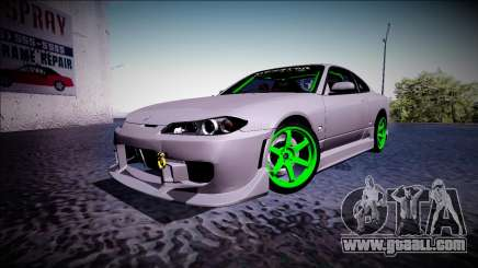 Nissan Silvia S15 Drift Monster Energy for GTA San Andreas