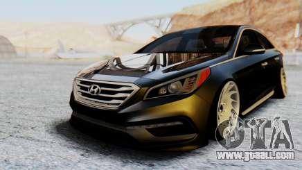 Hyundai Sonata Turbo 2015 for GTA San Andreas