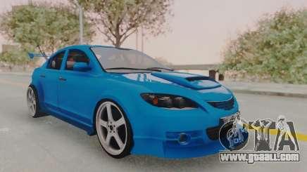 Mazda 3 Full Tuning for GTA San Andreas