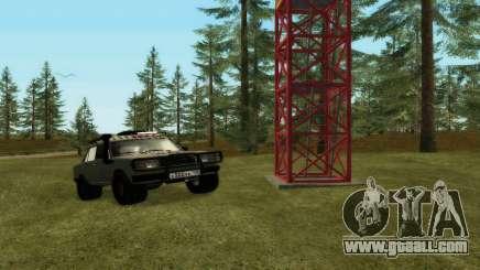 VAZ 2107 4x4 for GTA San Andreas