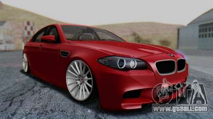 BMW M5 2012 Stance Edition for GTA San Andreas