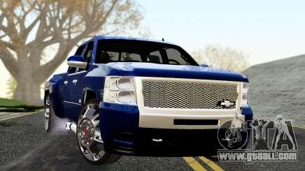 Chevrolet Cheyenne 2012 Dually for GTA San Andreas